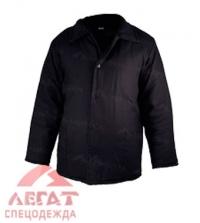 Куртка ватная (черная)