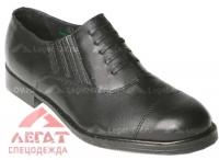 Туфли 50 мужские (имитация шнуровки)