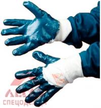 Перчатки с нитрил. покрытием (частично)