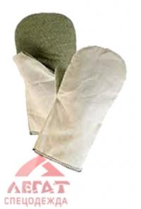 Рукавицы антивибрационные с брезентовым наладонник