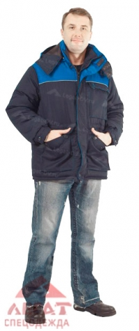 Куртка Инженер син/ вас