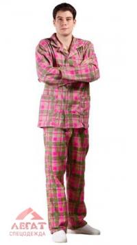 Пижама мужская(фланель)