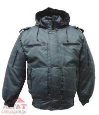 Куртка Снег удлиненная  Р6 чёрная (Лана)