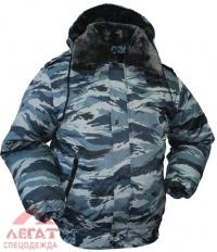 Куртка Снег укор. Р51-09 серый камыш (Оксфорд)