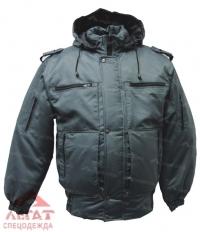Куртка Снег удлиненная  Р6 чёрная (Оксфорд)