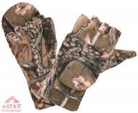 Варежки-перчатки флис Лес арт. 732-2