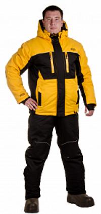 Костюм утеплен Кайт черно-желтый (куртка п/комбинезон) PAYER