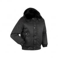 Куртка Снег укор. Р51-09 чёрная (Лана) арт.679