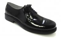 Туфли 56 мужские (лак, шнуровка)