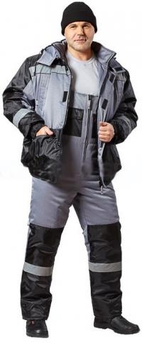 Костюм утепленнный Статус (куртка+п/комб)