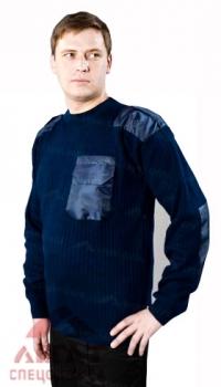 Джемпер мужской п/ш (арт. 86-02) т-синий