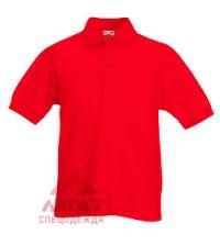 Рубашка-поло детская белая