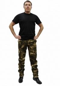 Брюки Армия цв. грязь  тк.смесовая