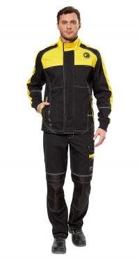 Куртка Старт цв. черн-желт