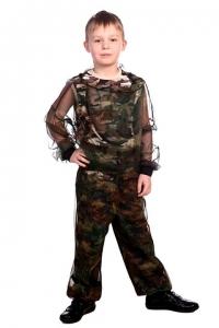 Куртка детская СТОП-Москит (сетка КМФ)