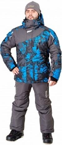 Куртка Ирбис (таслан, серый)
