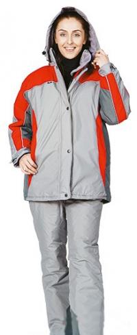 Костюм утеплен женский Исландия (куртка п/комбинезон)