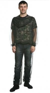 Куртка СТОП-москит (чёрный)
