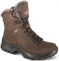 Ботинки Трэвел Vip НАТ МЕХ коричневые арт. 541-1