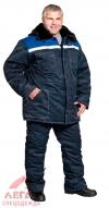 Костюм утепленный Легион (синий с васильковым) куртка+брюки