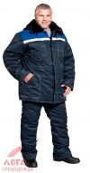 Костюм утеплен. Легион (синий с васильковым) куртка+брюки