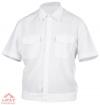 Рубашка ПОЛИЦИЯ белая  кор. рукав на резинке