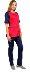 Блуза женская КЛЭР (тк. сорочка Твил-стрейч-145) ВИЛАН