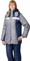 Куртка жен ФРИСТАЙЛ (т.синий+стальной)