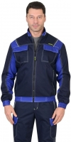 Куртка КАРАТ цв. т.синяя+васильковый
