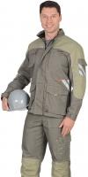 Куртка Вест-Ворк цв.т.оливковый+св.оливковым