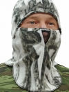 """Шлем-маска """"Буран"""" тк флис (Белый лес)"""